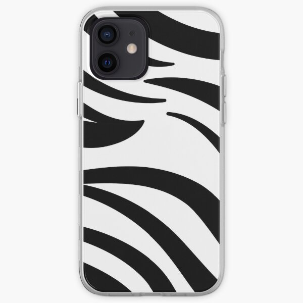 Zebra   Animal skin decor  iPhone Soft Case