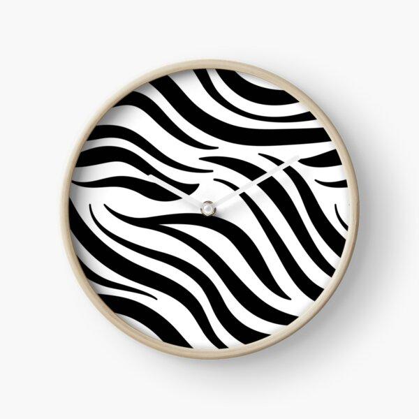 Zebra | Animal skin decor  Clock