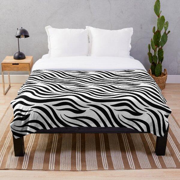 Zebra | Animal skin decor  Throw Blanket