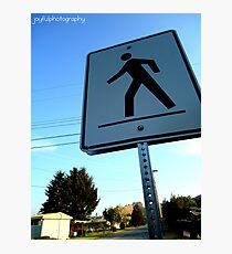 Walk This Way Photographic Print
