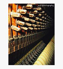 Antique MusicMaker Photographic Print