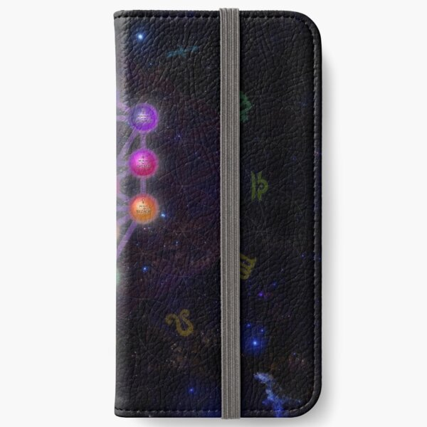 Kabbalah Tree of Life and Astrology iPhone Wallet