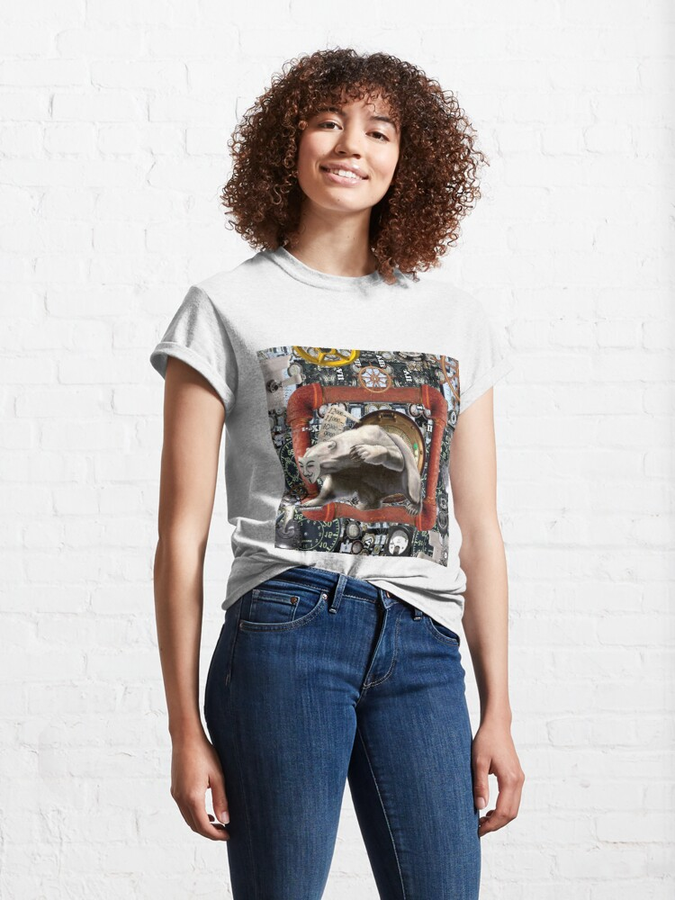 Alternate view of #Cyber #Espionage #Group Fancy #Bear Classic T-Shirt