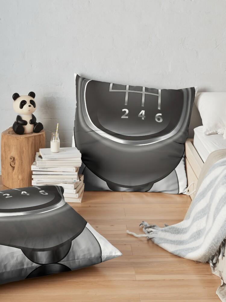 Alternate view of #Illustration, #machinery, #equipment, #technology, design Floor Pillow
