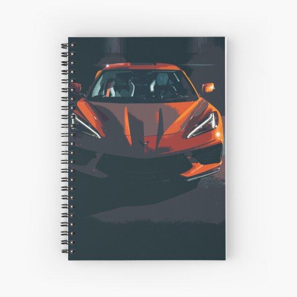 Chevrolet Corvette C8 Spiral Notebook