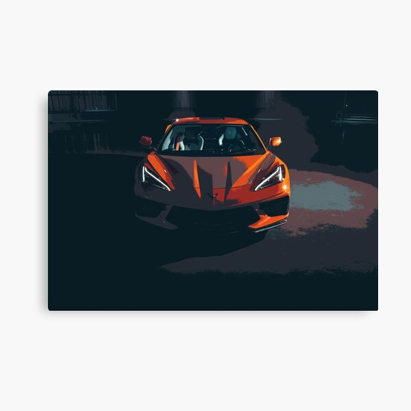 Chevrolet Corvette C8 Canvas Print