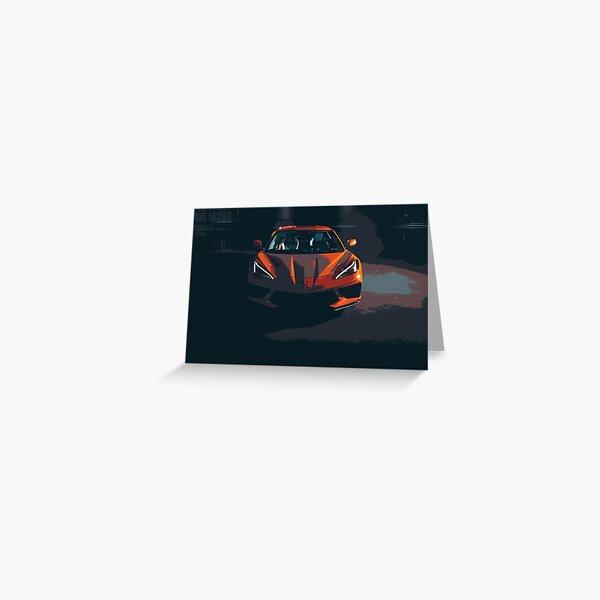 Chevrolet Corvette C8 Greeting Card