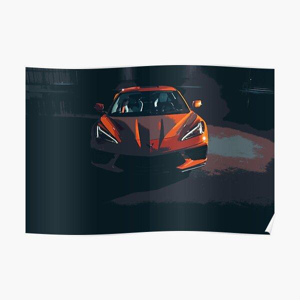 Chevrolet Corvette C8 Poster