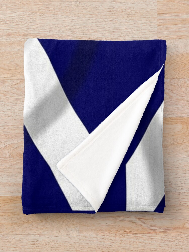 Alternate view of SALTIRE FLAG. FULL COVER. Scotland, Flag of Scotland, Scottish Flag, Saltire, SNP, S.N.P, Scottish Independence, Scots. Throw Blanket