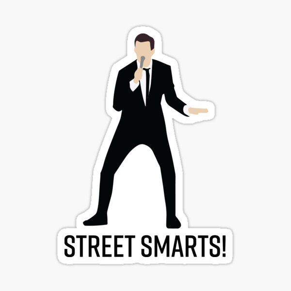 Street Smarts! Pegatina