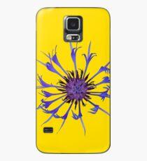 Thin blue flames Case/Skin for Samsung Galaxy