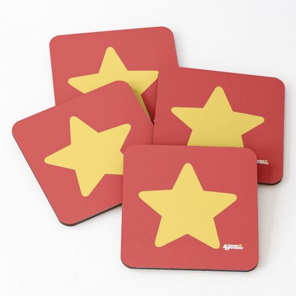 Steven Universe Star Coasters (Set of 4)
