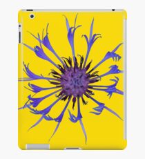 Thin blue flames iPad Case/Skin