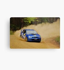Subaru Dustup Metal Print