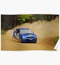 Subaru Dustup Poster