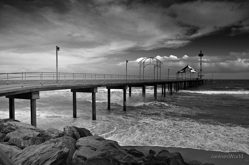Brighton Jetty, Adelaide. by JaninesWorld