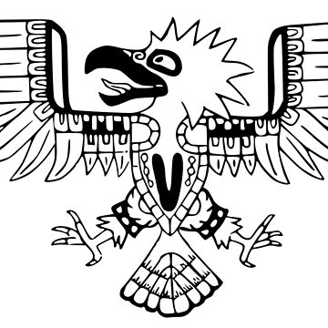 Mayan Eagle by Moppo
