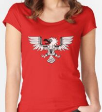 Mayan Eagle Women's Fitted Scoop T-Shirt
