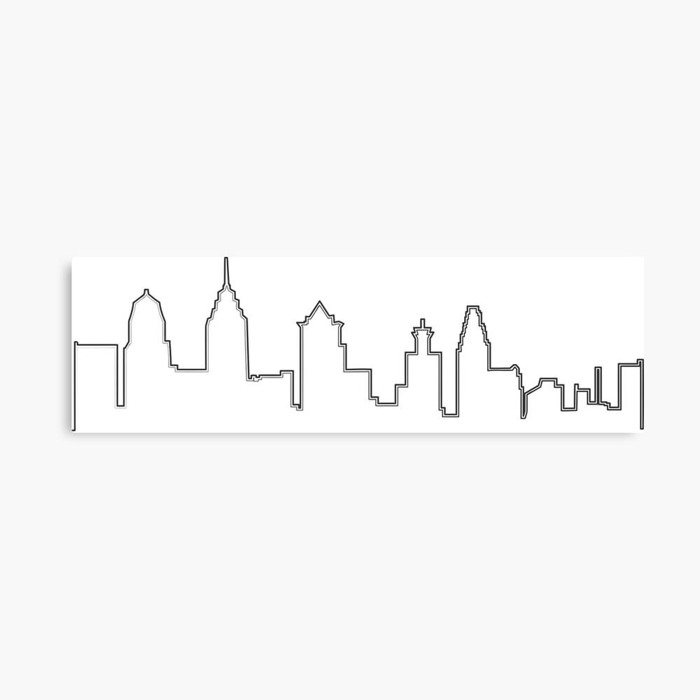 Filadelfia Filadelfia Skyline Lienzo