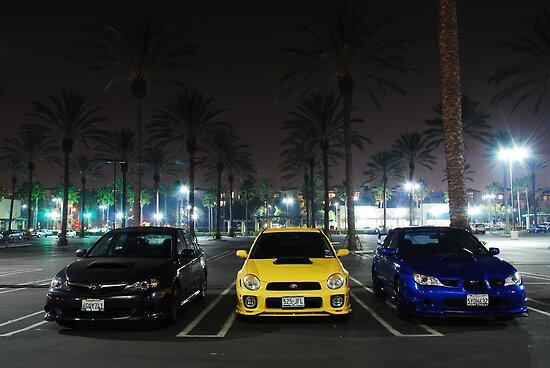 Subaru Family by katsie78