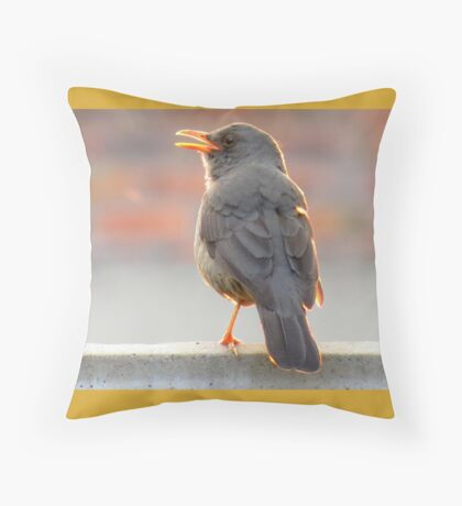 """""""I'm off to bed!""""  Throw Pillow"""
