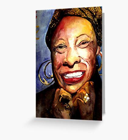 Betty C Greeting Card
