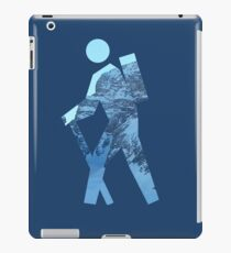 Alpine Hiker iPad Case/Skin