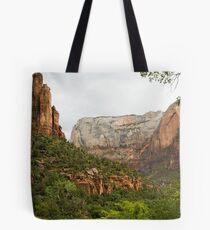 Zion scenery Tote Bag