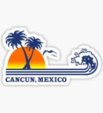 Cancun mexico geek funny nerd Sticker