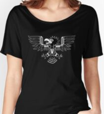 Mayan Eagle - Black Women's Relaxed Fit T-Shirt