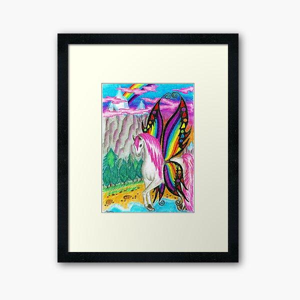 Pony-fly Framed Art Print