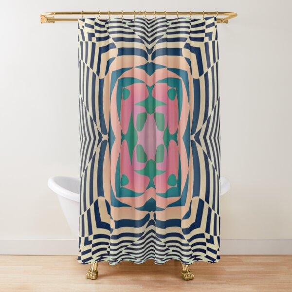 #Motif, #Visual, #Art, #Circle, 2D Shape, pattern, abstract, decoration, design, illustration, ornate Shower Curtain