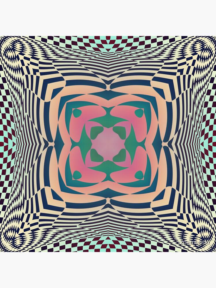 #Motif, #Visual, #Art, #Circle, 2D Shape, pattern, abstract, decoration, design, illustration, ornate by znamenski