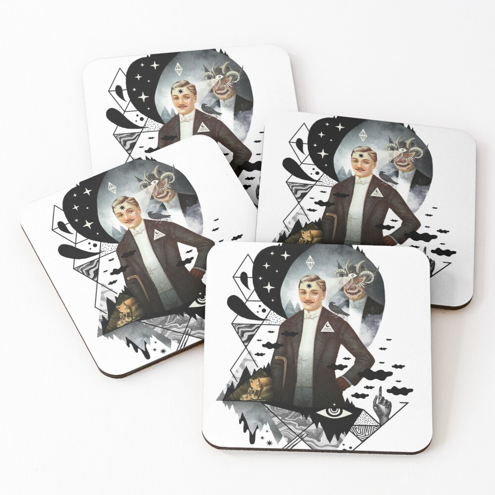Piece of Mind Coasters (Set of 4)