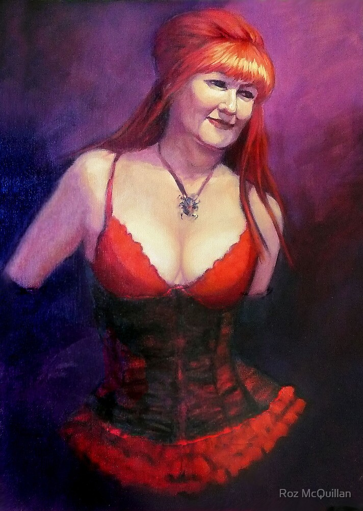 The Burlesque Queen by Roz McQuillan