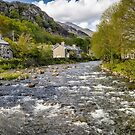 River Glaslyn at Beddgelert by Geoff Carpenter