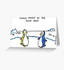 casual friday Greeting Card