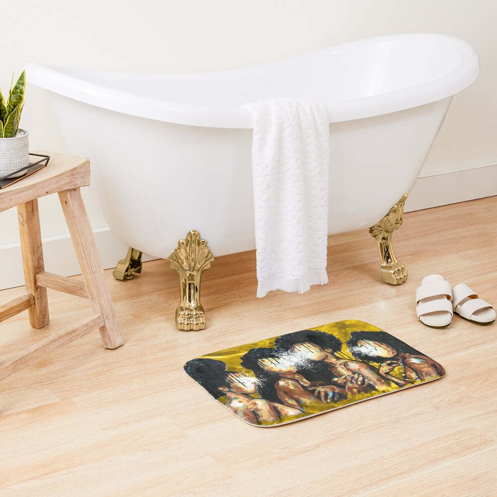 Naturally XLIV GOLD Bath Mat