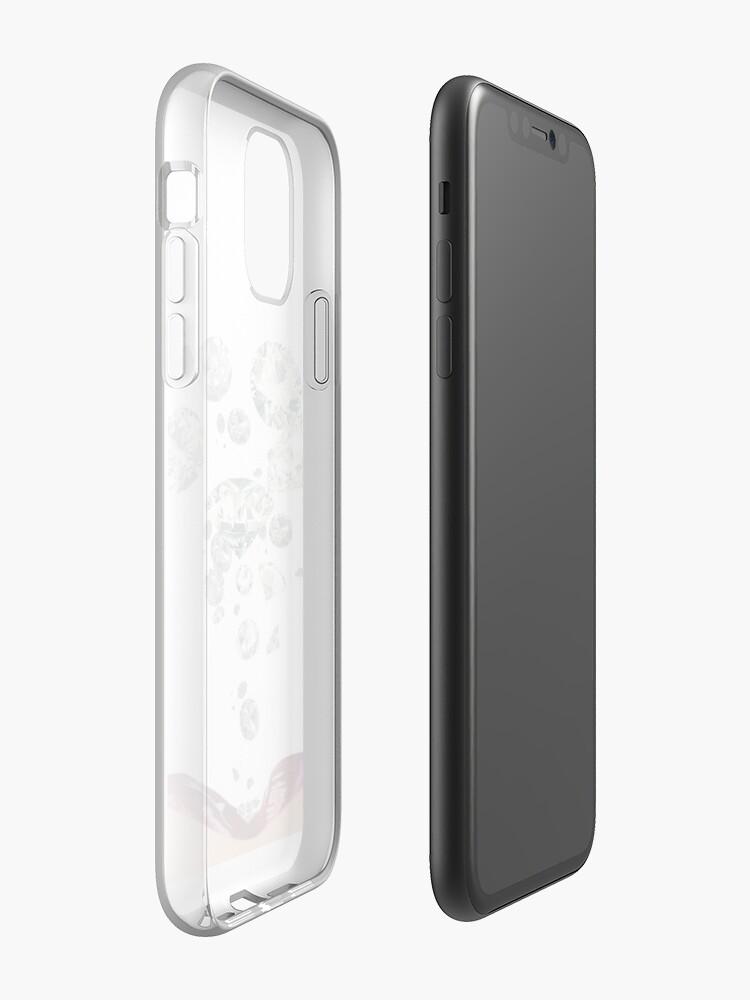 Coque iPhone «Chute des diamants», par JLee24