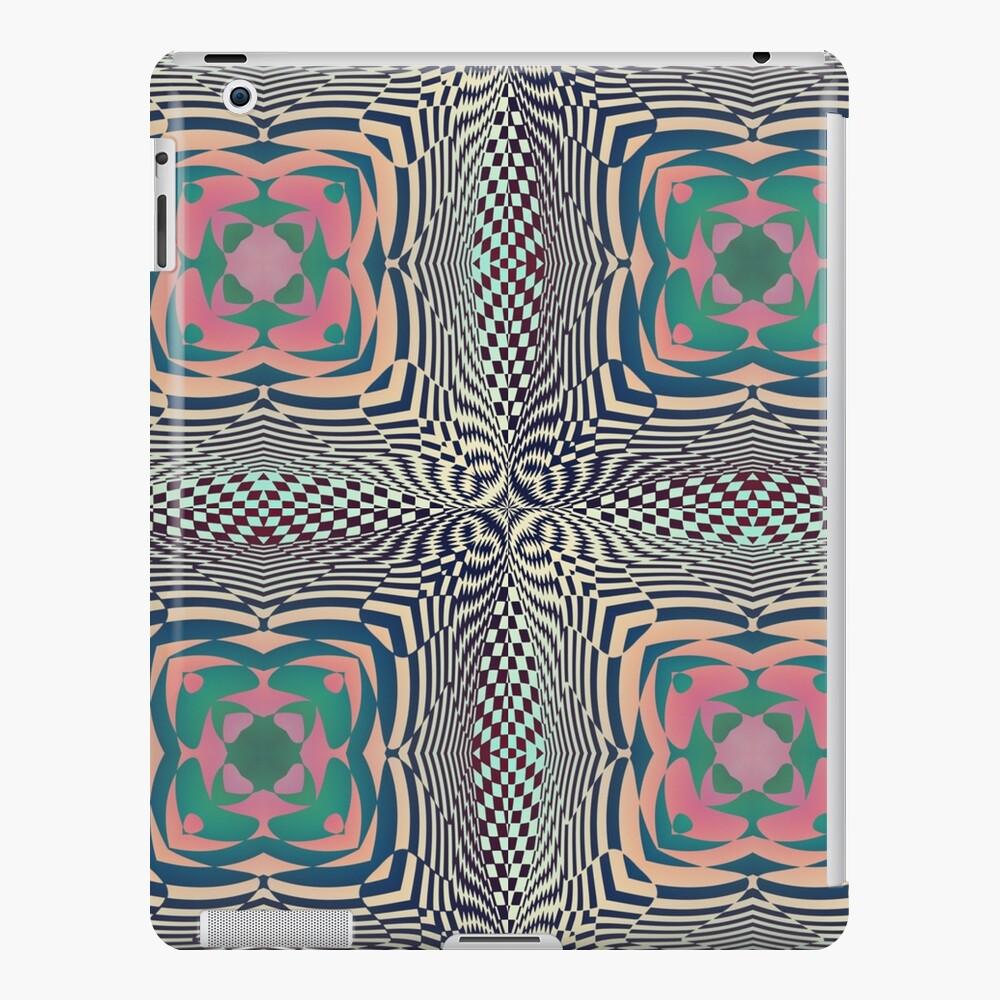 #OpArt, #visual #illusion, #VisualArt, opticalart, opticalillusion, opticalillusionart, opticalartillusion, psyhodelic, psichodelic, psyhodelicart iPad Case & Skin