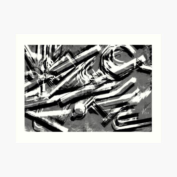 Digi Exp 18 Art Print