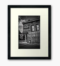 GROCERY   CREAM   FLOUR   COFFEE Framed Print