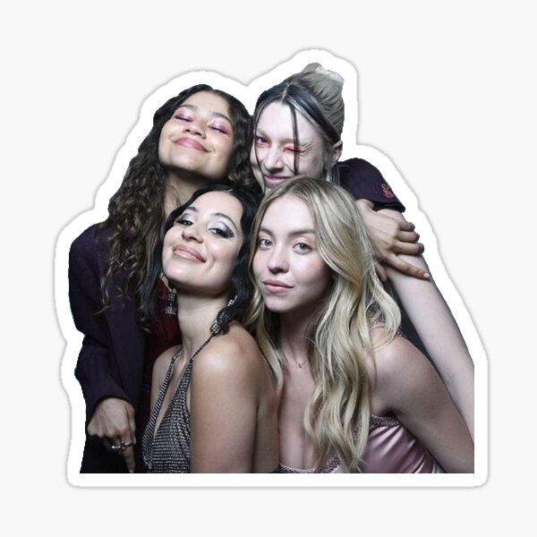 Euphoria Girls Cast Sticker