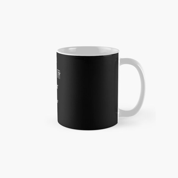 Just Add Guitar To Your Life (white lettering) Classic Mug