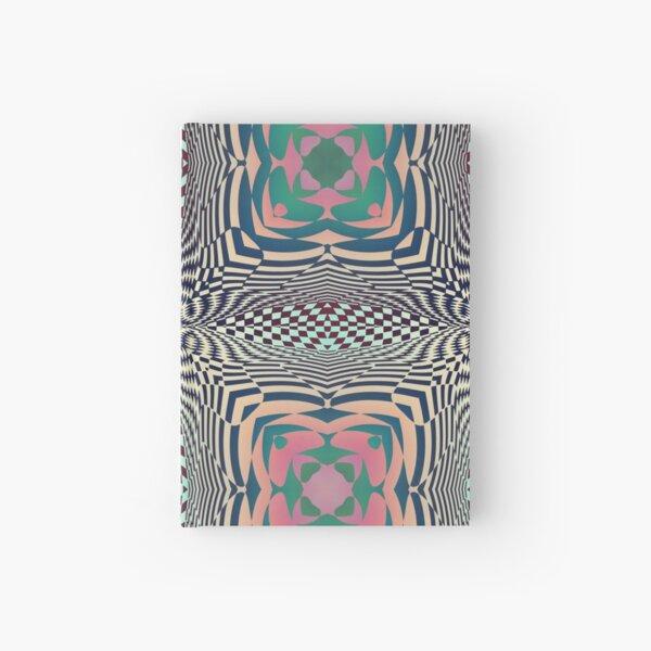 #OpArt, #visual #illusion, #VisualArt, opticalart, opticalillusion, opticalillusionart, opticalartillusion, psyhodelic, psichodelic, psyhodelicart Hardcover Journal