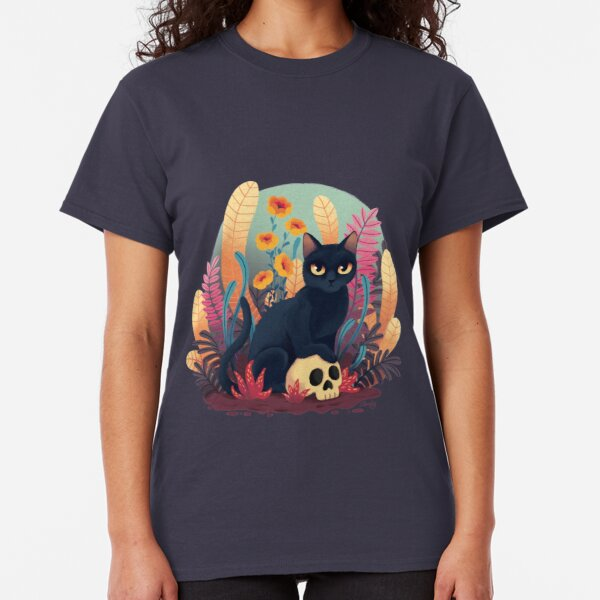 Skull kitty Classic T-Shirt