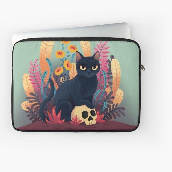 Skull kitty Laptop Sleeve