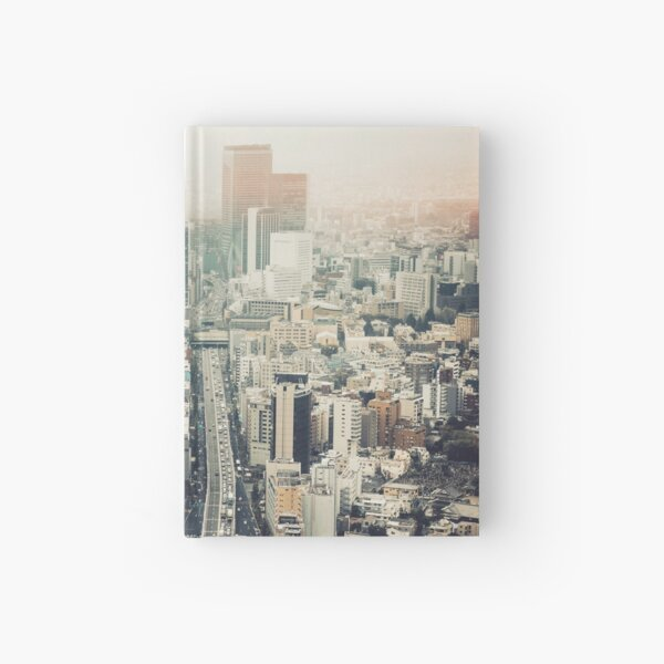 From Shibuya to Roppongi Hardcover Journal