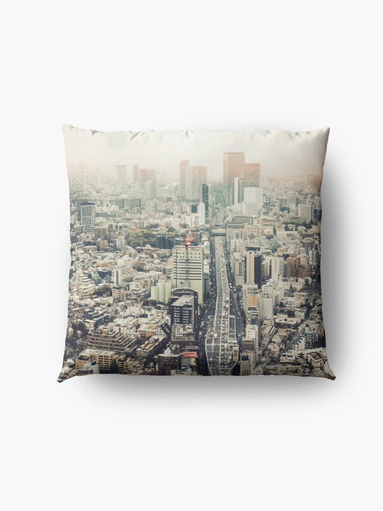Alternate view of From Shibuya to Roppongi Floor Pillow
