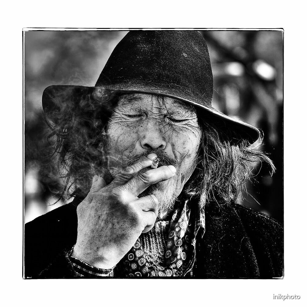 Beijing Homeless by inikphoto